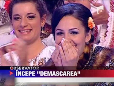 Demascarea, un nou show marca Antena1 debuteaza duminica