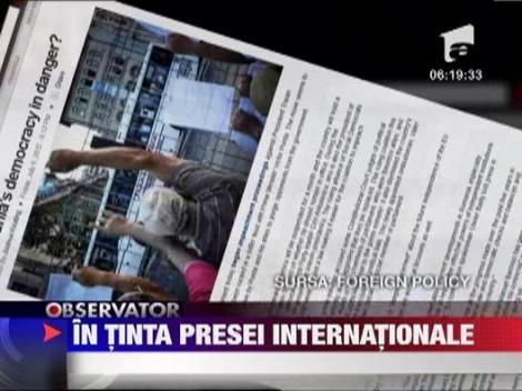 Suspendarea presedintelui Traian Basescu, in presa internationala