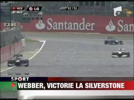 Mark Webber s-a impus in Marele Premiu de Formula 1 al Marii Britanii