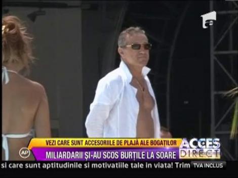 Miliardarii Romaniei si-au scos burtile la soare!