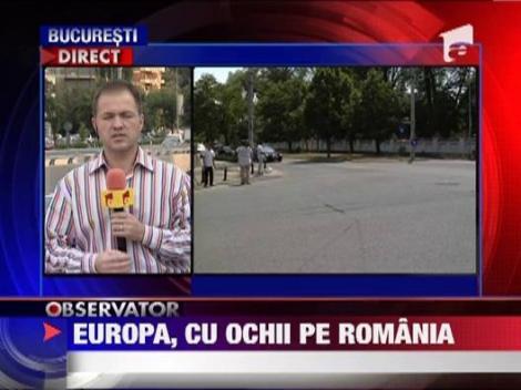 Situatia politica din Romania, subiectul unei reuniuni speciale a Comisiei Europene