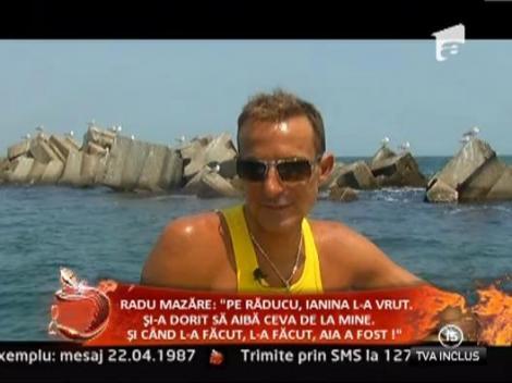 """Interviu EXCLUSIV! Radu Mazare: """"Am fost golan de mic. Asta e o boala, nu te vindeci de ea!"""""""