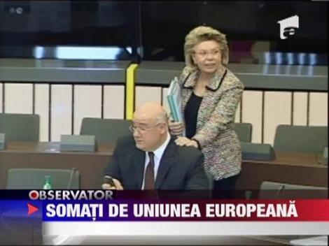 Victor Ponta, somat de UE sa restaureze puterile CCR. Premierul raspunde afirmativ