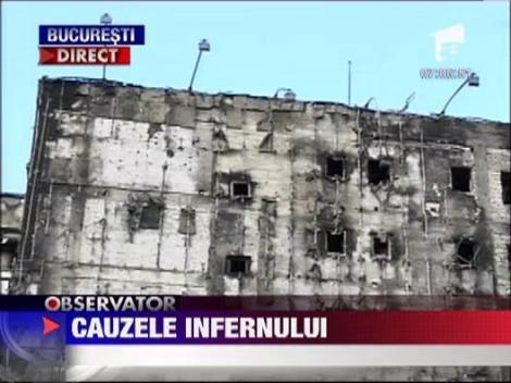 Incendiul de pe pe Soseaua Virtutii din Capitala, declansat de un aparat de aer conditionat