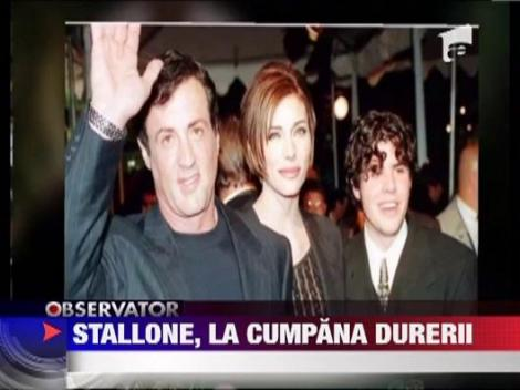 Sylvester Stallone cere sa fie lasat sa isi planga fiul in liniste