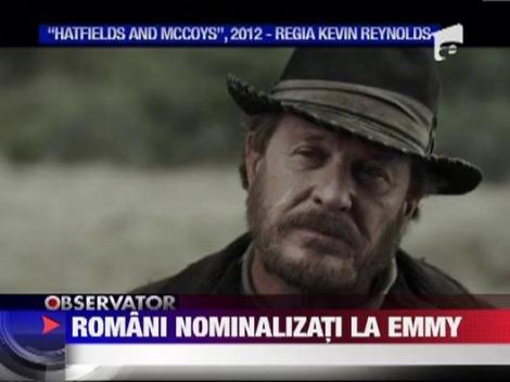 Trei romani au fost nominalizati la premiile Emmy