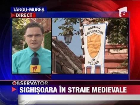 A inceput Festivalul Medieval de la Sighisoara!