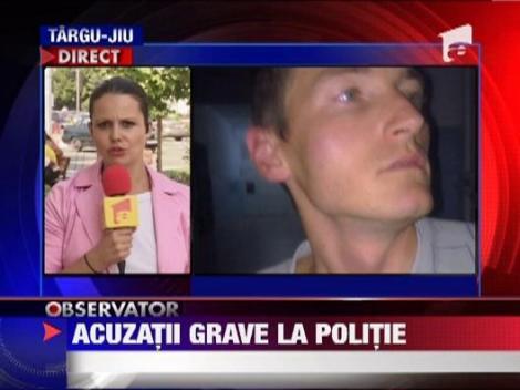 Seful politiei din Lupeni, acuzat de un fost subaltern de talharie