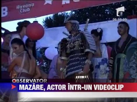 Radu Mazare va aparea intr-un videoclip al lui Costi Ionita
