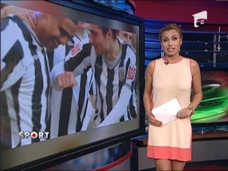 Gabriel Tamas a dat gol intr-un amical cu FC Copenhaga