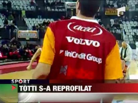 Francesco Totti s-a apucat de baschet