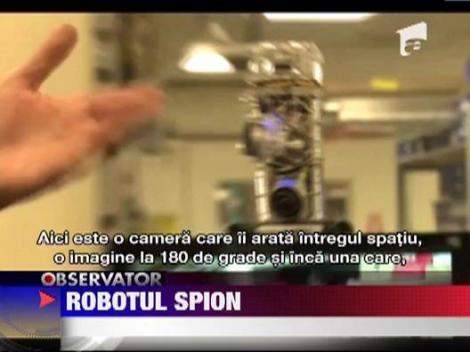 Robotul spion: sefii isi pot supraveghea angajatii, chiar si din vacanta