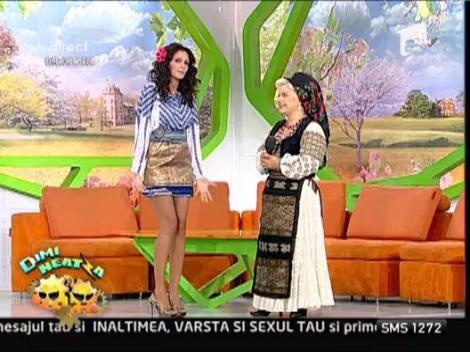 Valeria Arnautu colectioneaza costume populare