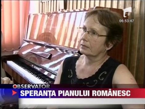 O romanca de 10 ani a uimit Europa cu talentul sau la pian!