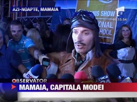 Mamaia, capitala modei: Radu Mazare, aviator pe catwalk