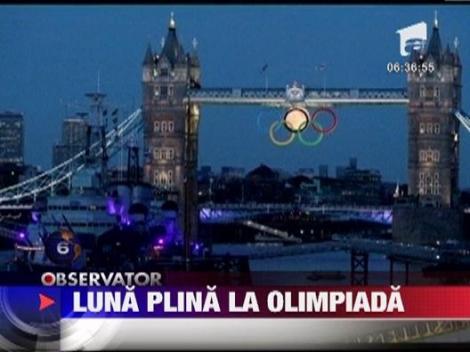 Luna plina la Olimpiada
