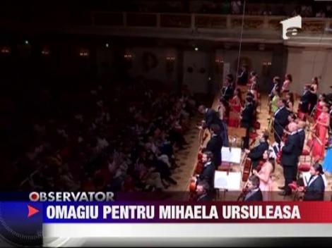 Orchestra Romana de la Festivalul de Muzica Clasica din Berlin a dedicat o aria regretatei Mihaela Ursuleasa