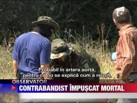 Contrabandist de tigari impuscat mortal