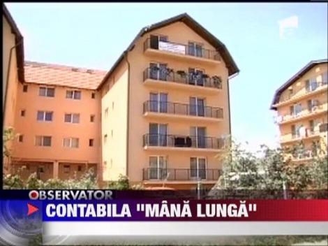 O clujeanca si-a cumparat 36 de apartamente cu banii furati de la serviciu