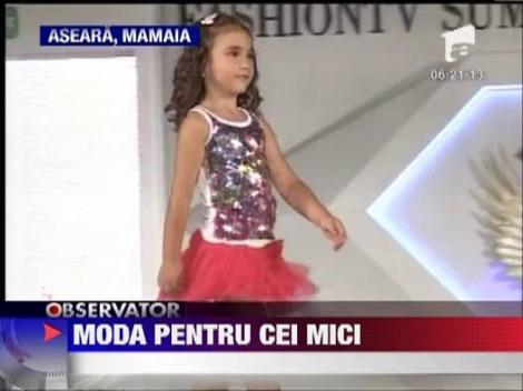 Mamaia: Prichindeii au prezentat colectia de primavara-vara a anului 2013!