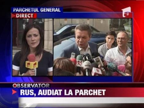 Fostul ministrul de Interne, Ioan Rus, audiat ca martor in dosarul listelor electorale