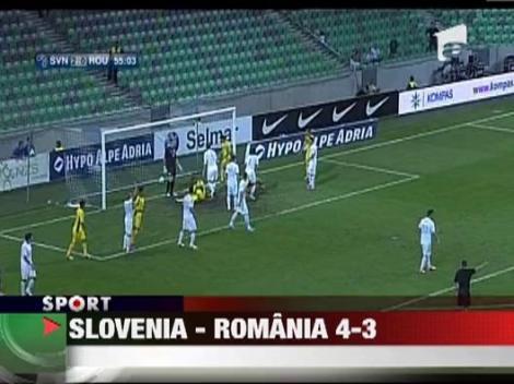 VIDEO! Slovenia - Romania 4-3/ Ploaie de goluri la Ljubljana