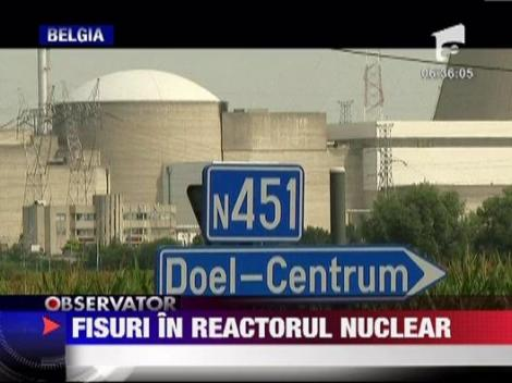 Belgia: Fisuri in reactorul nuclear
