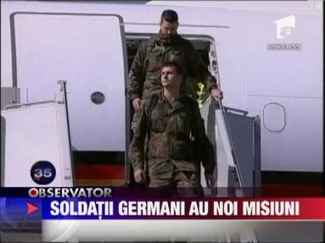 Premiera dupa al doilea Razboi Mondial: Bundeswehr, autorizata sa intervina pe teritoriul Germaniei