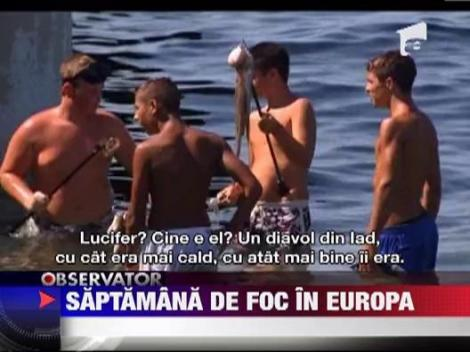 """Lucifer"" prajeste Europa: Vezi cum va fi vremea in Romania!"