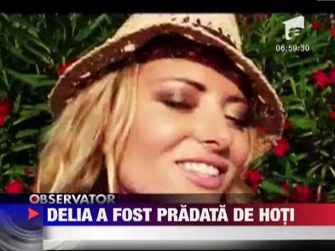 Delia Matache, victima unui jaf. Jurata X Factor a ramas fara telefonul mobil!