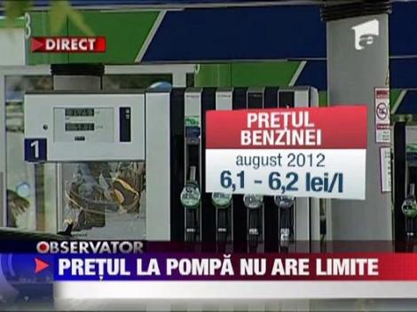Petrom a scumpit carburantii pentru a 5-a oara in 5 saptamani!