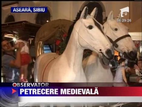"""La Sibiu a inceput festivalul medieval """"Cetatea Transilvaniei"""""""