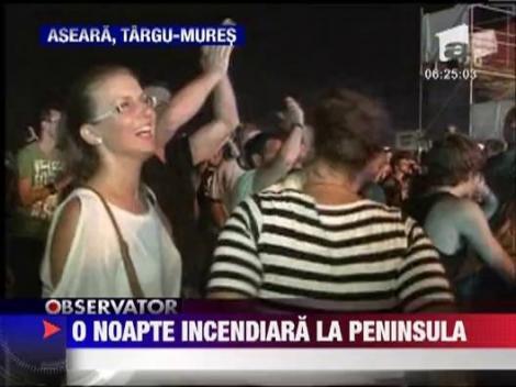 Trupele romanesti au facut show la festivalul Peninsula