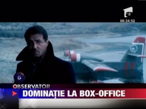 "Filmul de actiune ""Expendables 2"" a dominat Box Office-ul american"