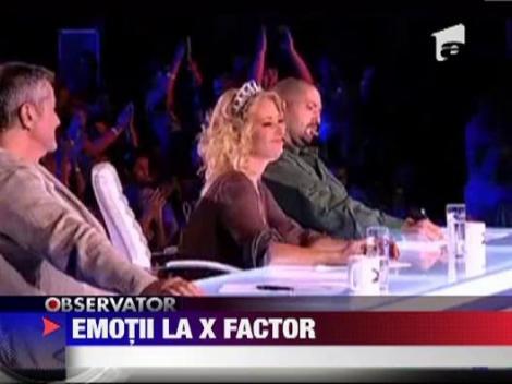 Andrei Leonte a cantat noii generatii de jurati X Factor