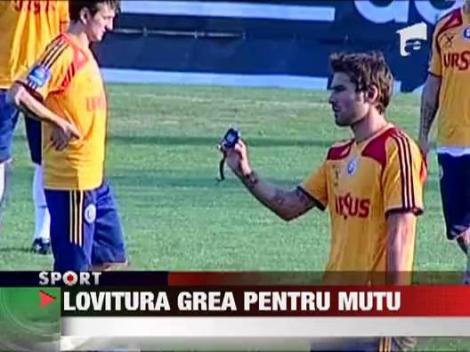 Preliminarii CM 2014: Victor Piturca nu l-a convocat pe Adrian Mutu pentru meciurile cu Estonia si Andorra