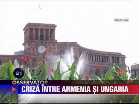 Armenia a decis sa rupa relatiile diplomatice cu Ungaria