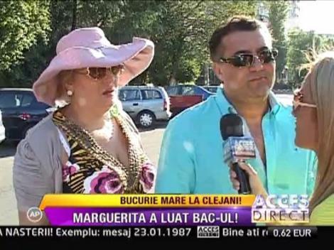 Margherita din Clejani a luat in sfarsit Bacalaureatul. In vara adormise la examen!