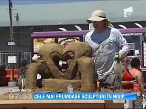 SUA: Cele mai grandioase sculpturi in nisip si un premiu de... 20.000 de dolari!
