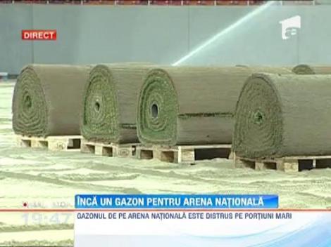 Gazonul de pe Arena Nationala va fi schimbat din nou >> Tricolorii il vor testa pe 11 septembrie, cu Andorra