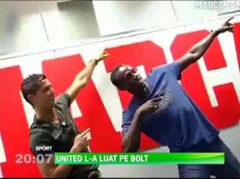 Manchester United l-a luat pe Bolt