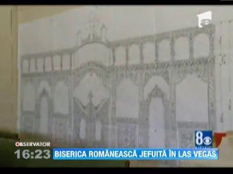 O biserica romaneasca din Las Vegas a fost jefuita