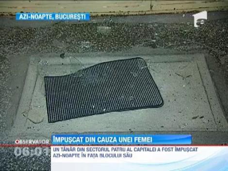 Un tanar din Sectorul 4 al Capitalei a fost impuscat din cauza unei femei