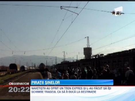 Un tren din Bulgaria a fost deturnat de pasageri! Vezi ce i-a nemultumit pe oameni!