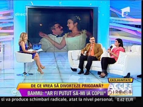 Silviu Prigoana sustine ca Bahmu si-a neglijat familia, preferand cariera in televiziune