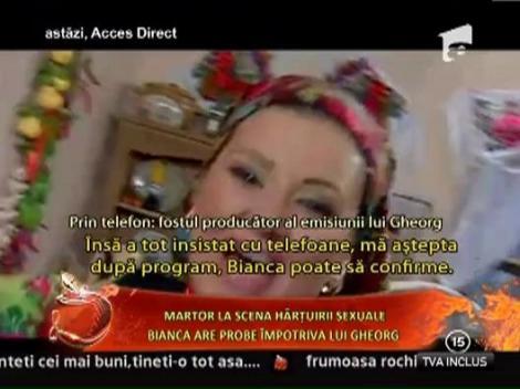 Bianca Rus are probe impotriva lui Gheorg