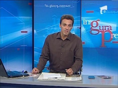 "Mircea Badea a implinit opt ani de cand realizeaza ""In Gura Presei""! Ce mesaj ii transmiti?"
