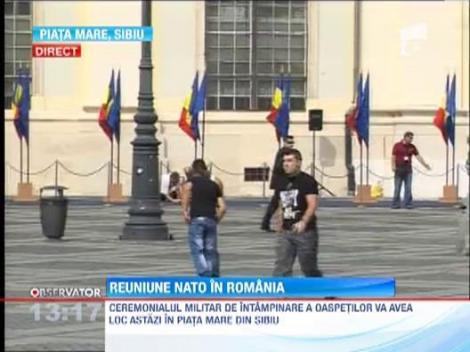 Reuniune NATO la Sibiu, intre 14 si 16 septembrie