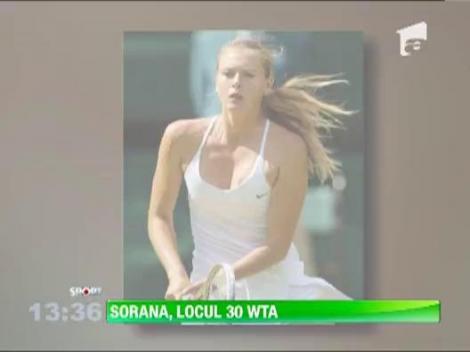 Sorana Carstea e a 30-a jucatoare de tenis din lume