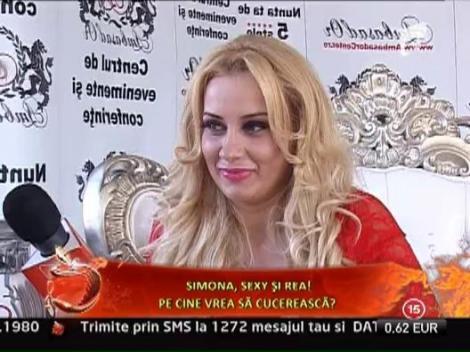 Simona Trasca, sexy si rea!